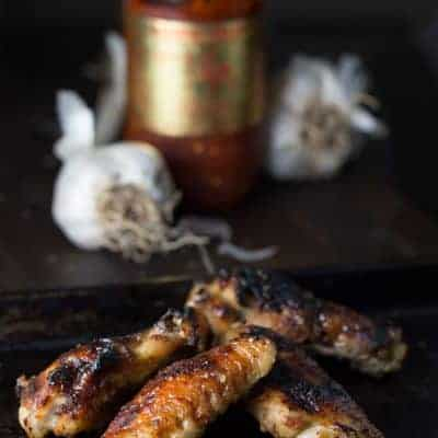 Ultimate Garlic Chicken Wings
