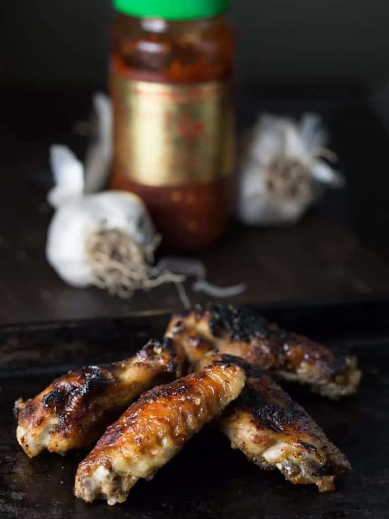 Ultimate Garlic Chicken Wings,  amazing flavor everyone will love.