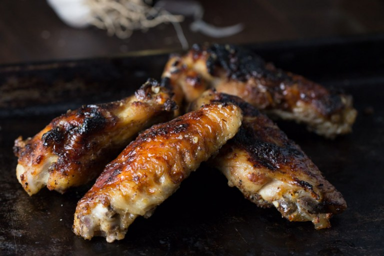 Ultimate Garlic Chicken Wings, amazing flavor everyone will love. | intentionalhospitality.com