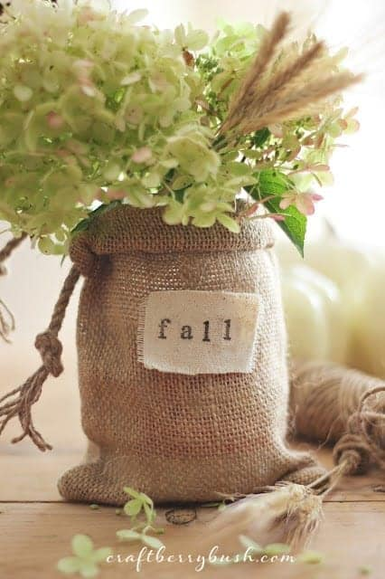 burlap crafts for fall intentional hospitality