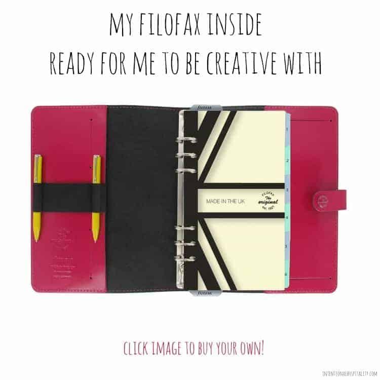 Filofax inside