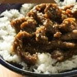 It is easy to make this amazingly flavorful Mongolian Beef at home. Doing take out for a large crowd can get expensive, but with this recipe you will be a able to have that take out flavor on a much smaller budget.