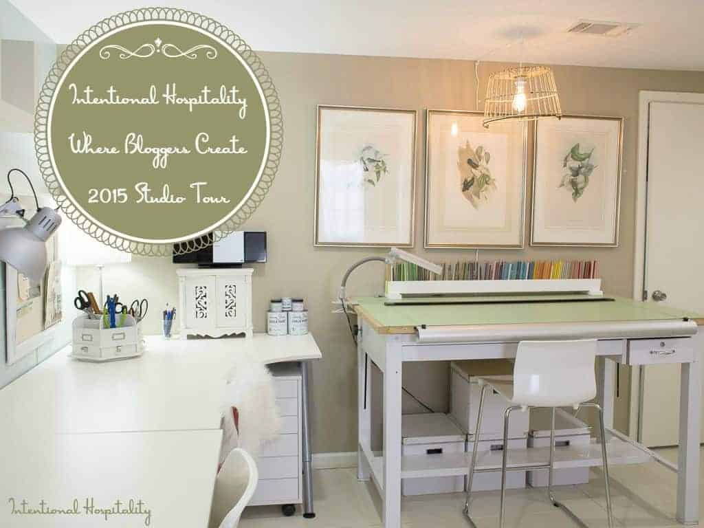 Intentional Hospitality | Where Bloggers Create 2015 Studio Tour Intentional Hospitality