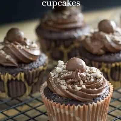 Best Moist Chocolate Mocha Cupcake Recipe