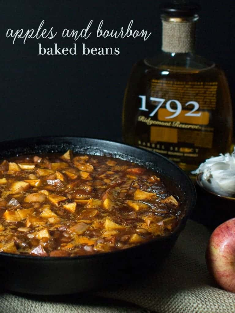 Each bite of these Bourbon and Apples Baked Beans brings a new flavor sensation in your mouth. You will find hints of bourbon, maple syrup, bacon or a smokey bbq hint of cinnamon with each new bite.