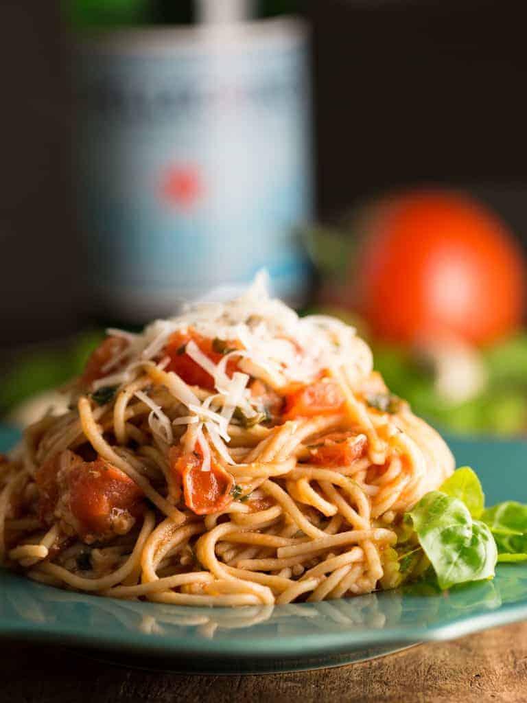 Yummy Cheesy Pasta | Intentional Hospitality