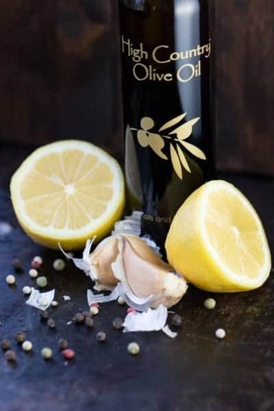 Crushed black pepper with freshly squeezed lemon juice and savory garlic help create this Lemon Pepper Marinade with loads of flavor to spice up your seafood, chicken or vegetables.