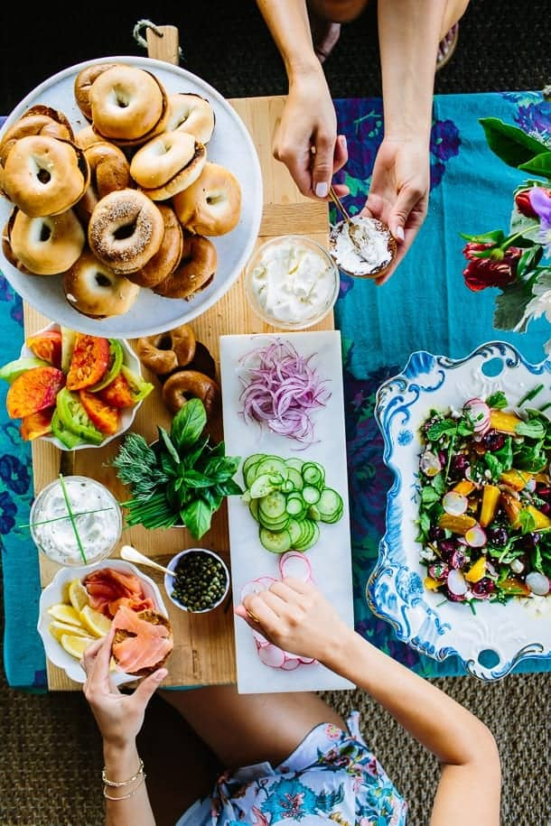 How to set up a Bagel Bar