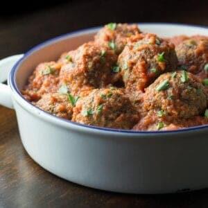 Eggplant and Beef Meatballs Recipe