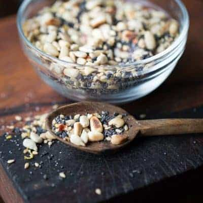 Spicy Seed Salad Topping