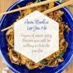 Asian Noodles Lao Gan Ma