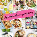 backyard dinner party ideas
