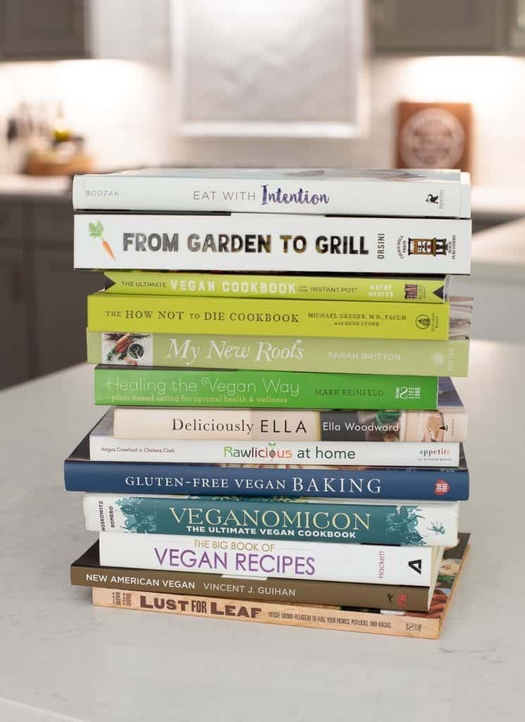 vegan plant-based cookbooks