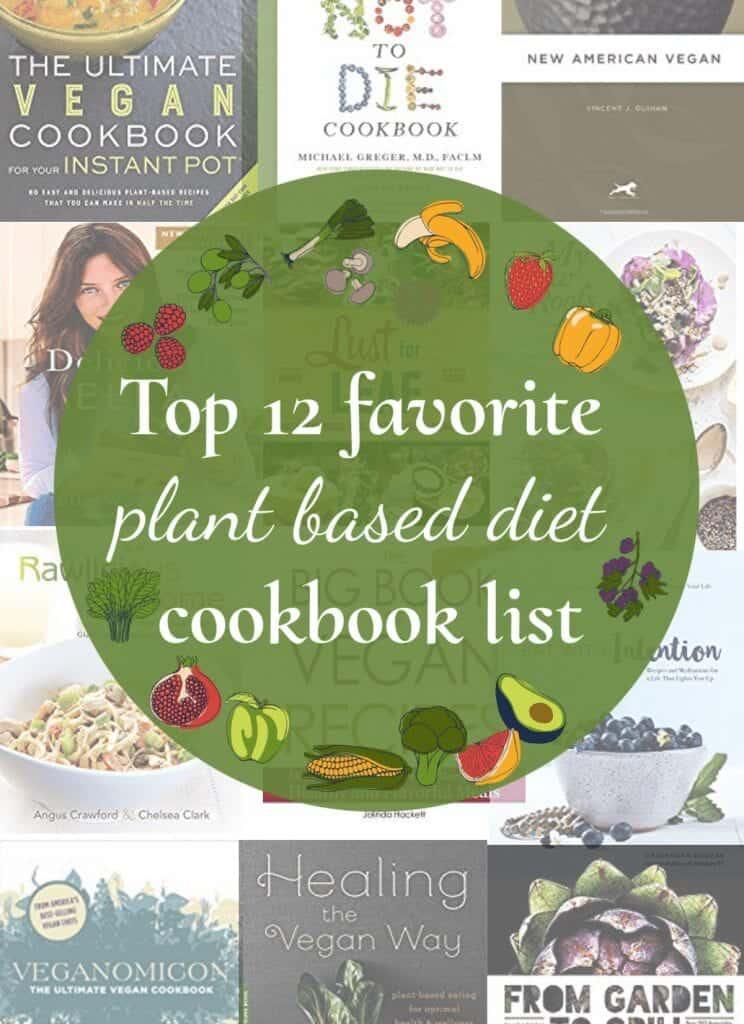 plant-based cookbooks