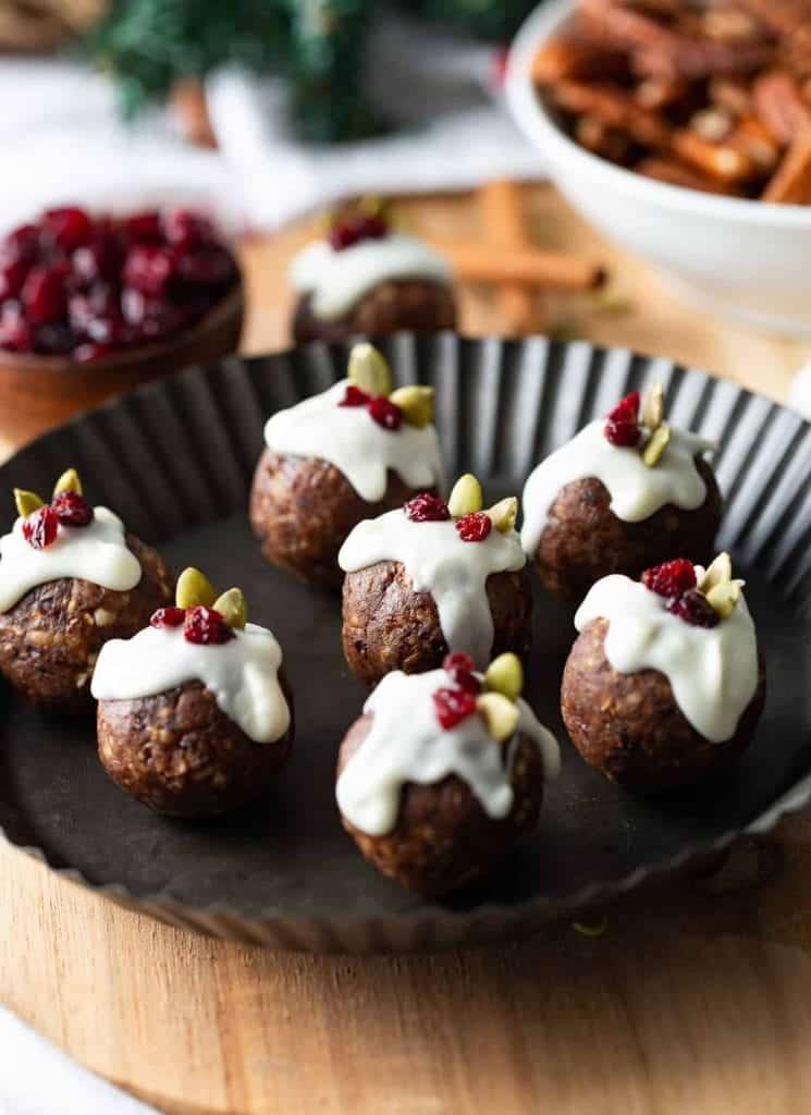 Vegan Food Gifts christmas protein balls
