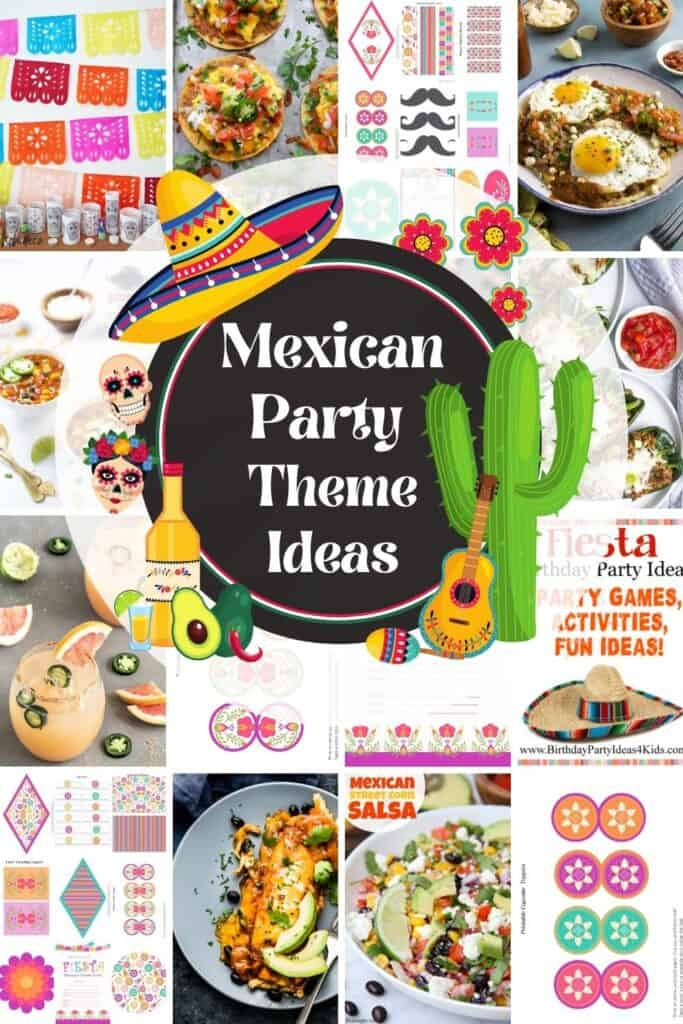 pictures of mexican party theme ideas