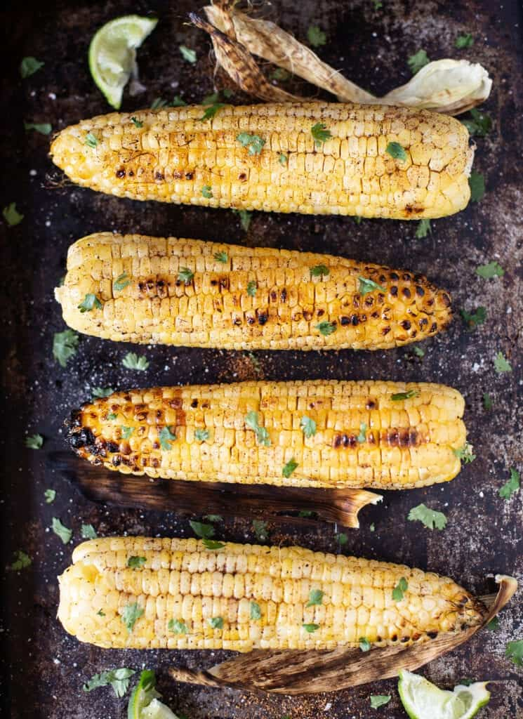 Grilled Corn In Husk