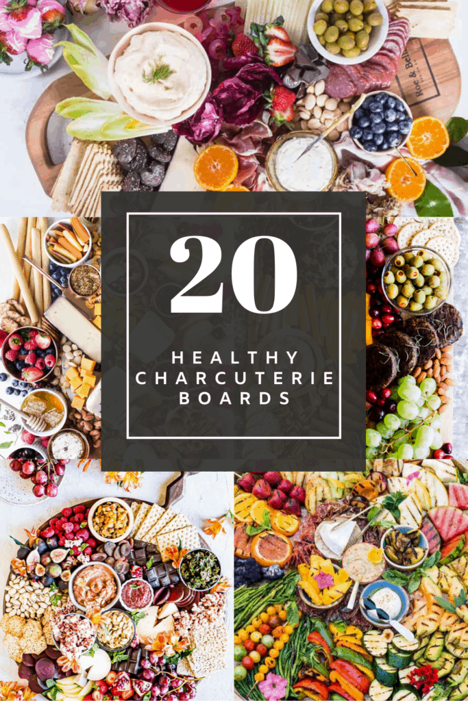 healthy charcuterie boards