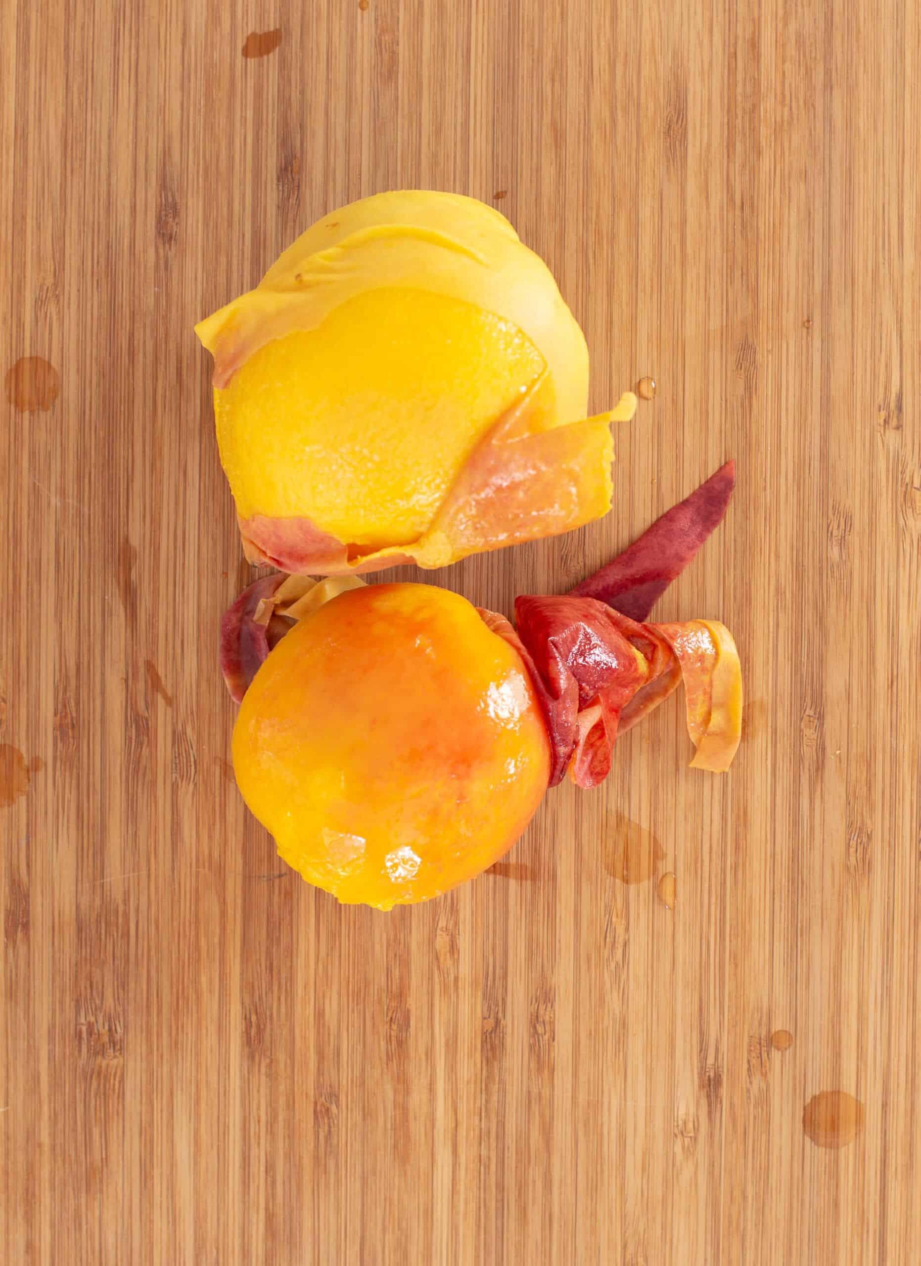 Canning Peach BBQ Sauce