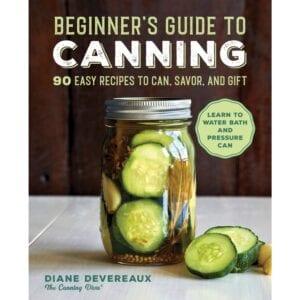 canning cookbook beginers