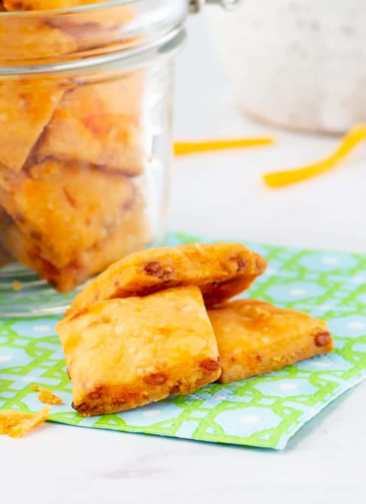 Pimento Cheese Crackers