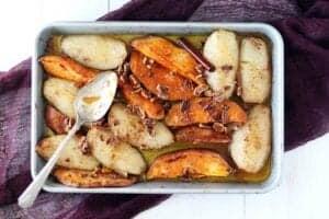 sweet potato pears