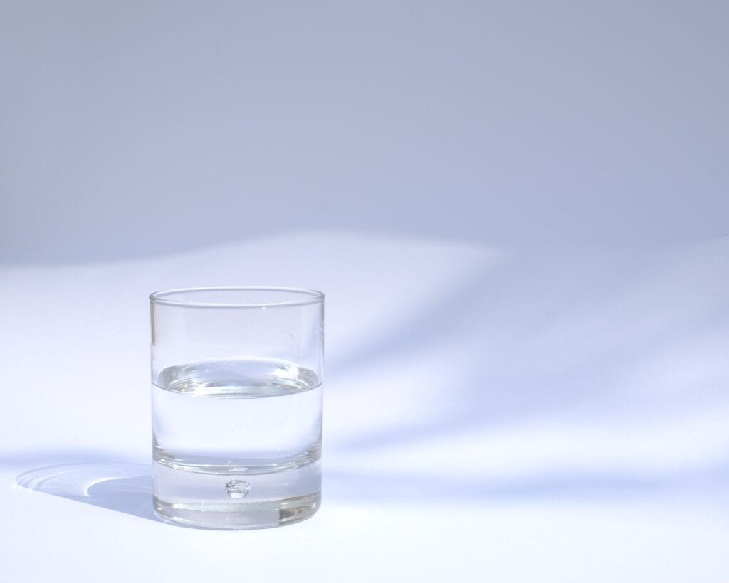 glass of water Drinks That Help With Nausea