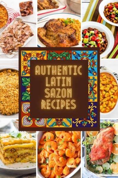 sazon recipes