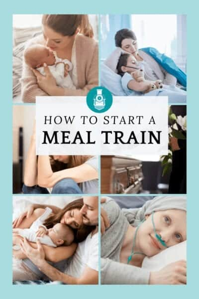how to start a meal train people who need meals
