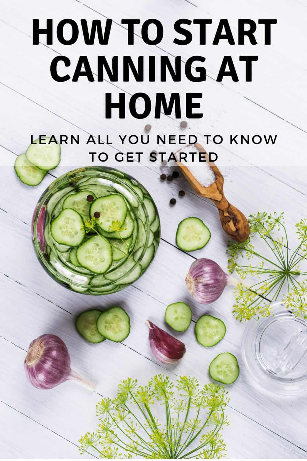 how to pressure guide can with pickles, spices and jars.