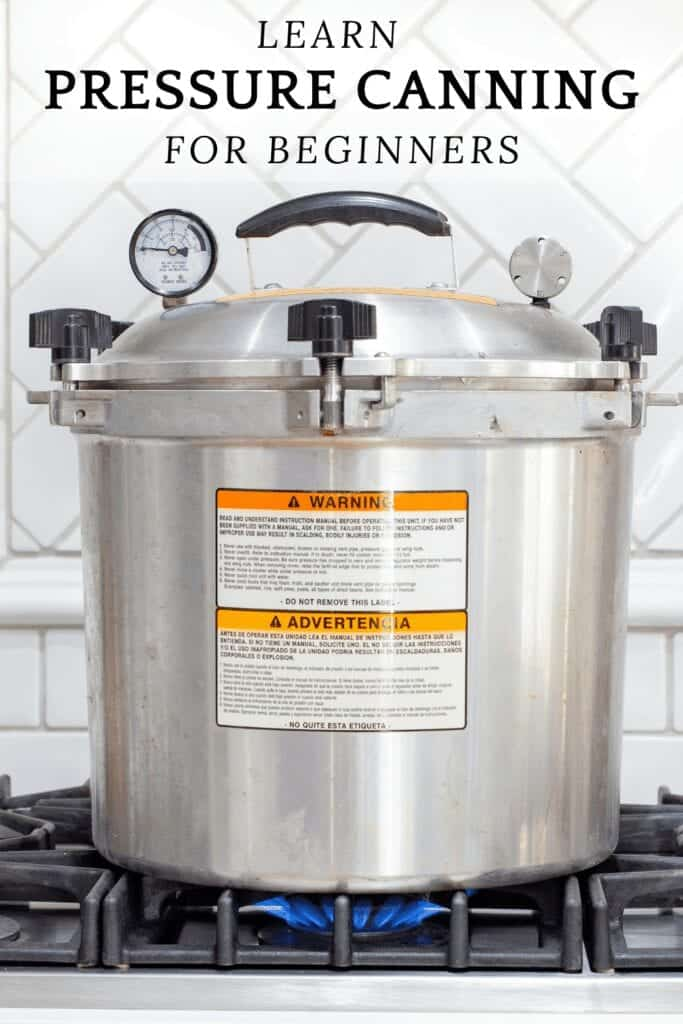how to pressure can with pressure cooker on the stove