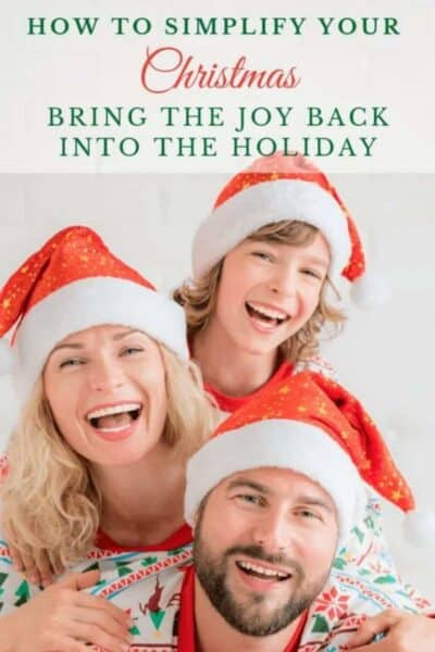 family how to simplify your christmas 7 tips