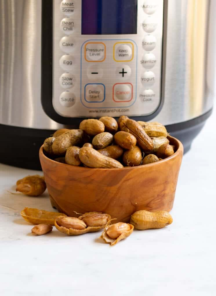 boiled peanuts by the instant pot