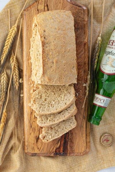 beer bread on board
