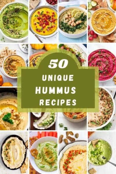 unique hummus recipes