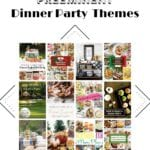 dinner party themes with pictures of parties