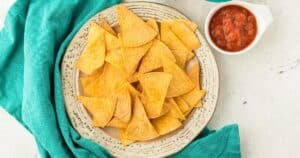mexican dinner party chips