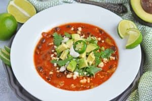 mexican dinner party soup