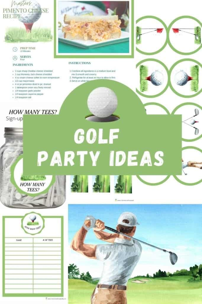Golf party ideas games and decorations