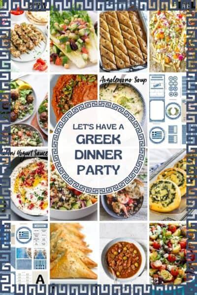 Greek dinner party food ideas
