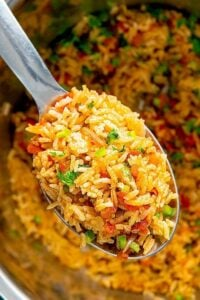 mexican dinner party rice