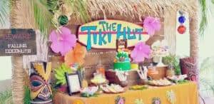 themes for parties luau