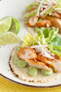 mexican dinner party fish tacos