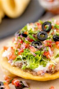 mexican dinner party chalupa