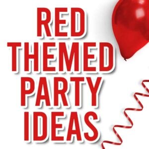 themes for parties red