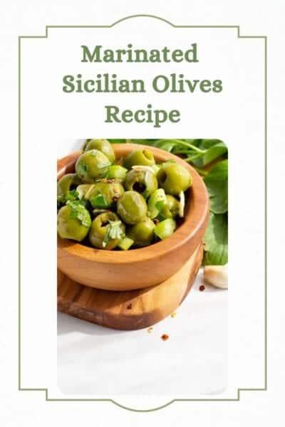 sicilian olives recipe