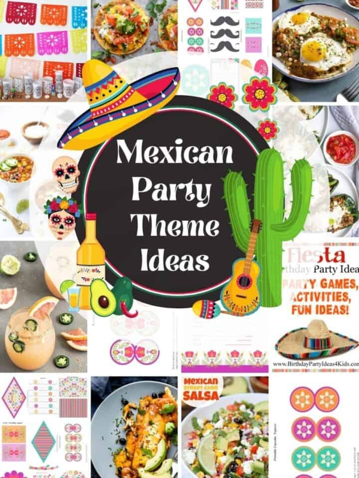 mexican party ideas for food and decorations