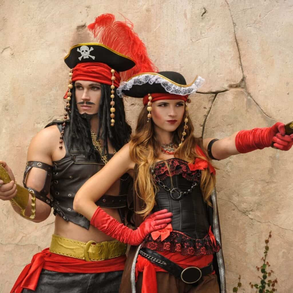 Best Dress Up Party Themes For Adults pirate costumes