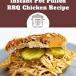 Quick & Delicious Instant Pot Pulled BBQ Chicken Recipe