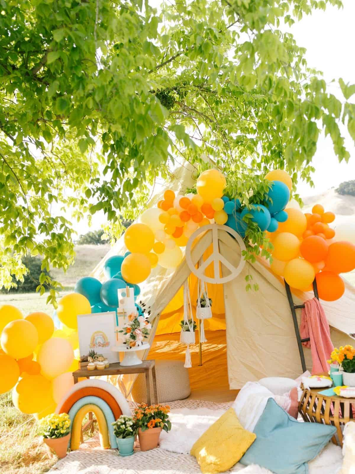 60s party themes peace and love idea